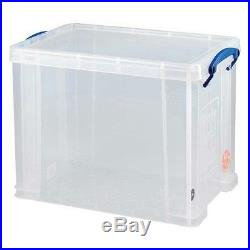 15 x'REALLY USEFUL STORAGE BOXES' 19 LITRE (CAN HOLD 12 RECORDS) NEW +24h