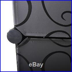 16 Boxes Interlocking Cube Storage Wardrobe Clothes Organizer 5 Tiers 5 Columns