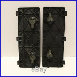 2005-2018 OEM 2 Toyota Tacoma Truck Bed Storage Box Bin Cubby Lid Door Set Black