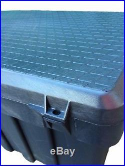 200 Litre Tough Contico Padlockable Plastic Storage Tack Tool Trunk Trailer Box