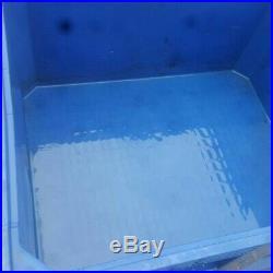 2 x Big Plastic storage stackable Pallet Tub Box