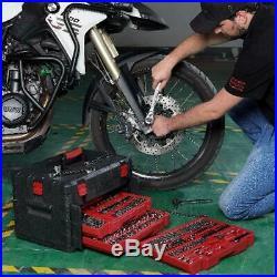 320 Piece Mechanics Tool Set with Storage Case Sockets, Ratchets, Repair Tool