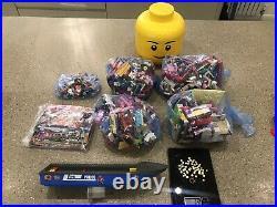 4Kg Lego & Friends Bundle job Lot Bricks. Plus, Figures, Storage Head & Gold