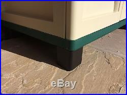 6ft Storage Box Tool Box Organiser Cabinet Garden Shelves Outdoor Furniture Shed