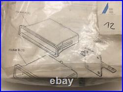 92-95 CIVIC Eg 2 Din Console Pocket Storage Tray Box Set Sr3 Eg6 Eg9 Rare Access