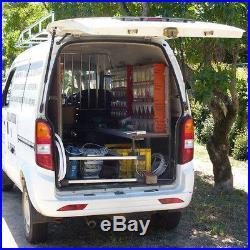 9 Compartment TILT BIN, Tilting box Workshop / Van Storage, plastic parts bin
