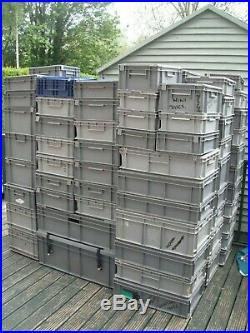 ALLIBERT. Schafer EURO CONTAINERS+LIDS. Stacking. Storage boxes. Totes packaging