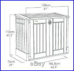 Brand New Keter Store It Out Midi 845L Plastic Garden Storage Box Message Me