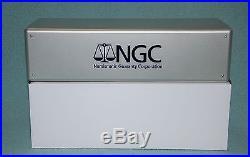 Brand New Ngc Silver Storage Box Plastic Grey Gray Holds 20 Ngc Pcgs Icg