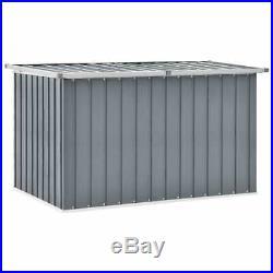 Cabinet Outdoor Garden Storage Plastic Storage Box Galvanised Steel and Plastic
