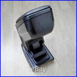 Car Center Console Armrest Storage Box Black For Dacia Renault Duster 2018-2019