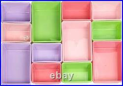 Children Kids Toy Storage Unit Playroom Toy Organizer Rack 12 Plastic Bins Boxes