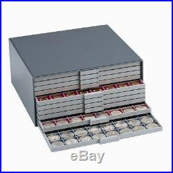 Collector's Large Coin Storage Box for up to 1440 Coins Choose your Trays