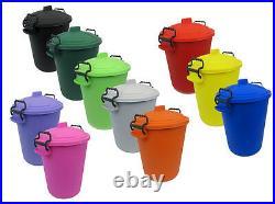 Coloured Bin 50l Litre Toy Box / Storage Bin / Child / Kids / Toys