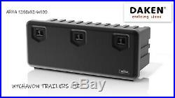 DAKEN Tool Box ARKA 1250x524x500 Lorry Side Locker Truck Storage Trailer Box