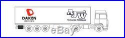 DAKEN WELVET 830/500/470 Tool Box Truck Storage Box Lorry Tool Case Side Locker