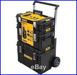 DeWALT DWST1-81052 Toughsystem Tower / Tool Storage Box on Wheels Trolley