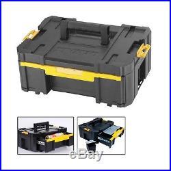 Dewalt DWST1-70705 TStak III Deep Drawer Stackable Tool Storage Box 9.5L