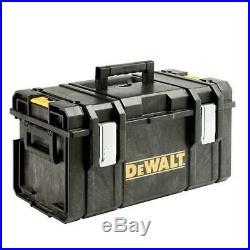 Dewalt Tool Box Large Mobile Travel Storage With Wheels ToughSystem 3pc Set Best