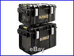 Dewalt Toughsystem Twin Pack DS300 + DS400 Case Stackable Tough Tool Storage Box