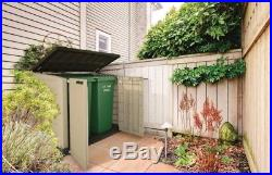 Extra Large Outdoor Plastic Garden Storage Box Shed Weather Resistance UK  SELLER