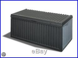 Garden Patio Outdoor Plastic Storage Chest Box Large 350L Litre Furniture