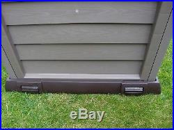 Garden Storage Box Chest Patio Large Weather Waterproof Outside Large 390 L Shed