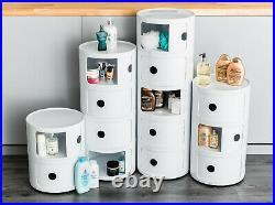 Hallway Bathroom Toilet Storage Shelf Table Unit Corner Caddy Drawer Cabinet New