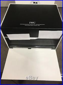 IWC Schaffhausen Large Leather Storage Box
