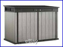 Keter Grande Store XXL Garden Storage Wheelie Bin Outdoor Large Box Shed 2020