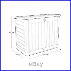Keter Store It Out Ace Max Large Garden Outdoor Storage Box Shed 1200L -Grey
