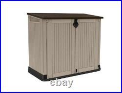 Keter Store It Out Midi Garden Storage Box-Beige Brown 880L