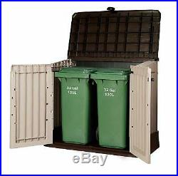 Keter Store It Out Midi Plastic Garden Shed Storage Box Outdoor 845L Bins NEW