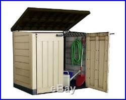 Keter Store It Outdoor Plastic Garden Storage Box Shed Weatherproof Heavy Duty