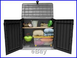 Keter Store it Out Midi Outdoor Garden Patio Storage Box Container Grey 845L