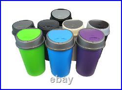 Kitchen Bin Bullet Bin / Swing Bin / Touch Top Bin All Colours 50l & 25l