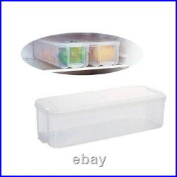 Kitchen Fridge Food Storage Container Organizer Holder Fruit Box Multi