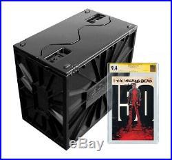 LOT OF 5 BCW Graded CGC Comic Book Storage Box Bin Plastic Heavy Duty Stackable