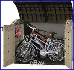 Large Plastic Shed Storage Box Garden Bikes Wheelie Patio Bike Outdoor Bins BBQ