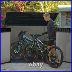 Large Storage Shed Garden Wheelie Bin XL Plastic Keter Bike Tool Store Patio Box