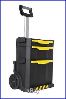 Large Tool Box On Wheels Rolling Workshop Tool Organiser Mobile Storage Chest