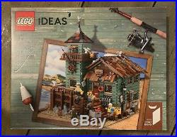 Lego 21310- IDEAS Old Fishing Store Sealed NEW Set Unopened