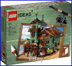 Lego Ideas Old Fishing Store 21310 Sealed Box Retired
