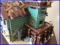 Lego Ideas Old Fishing Store Set # 21310 99.9% complete, no manual or minifigs