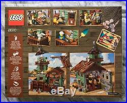 Lego Ideas Old Fishing Store Set 21310 (New Sealed)