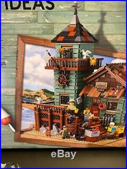 Lego Ideas Old Fishing Store Set # 21310 with Mini-Figures Instructions