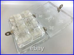 Louis Vuitton Rare Dice Monogram Clear Acrylic plastic With storage box case