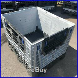 Magnum Classic + LID Plastic Storage Folding Pallet Box Container Flc K975