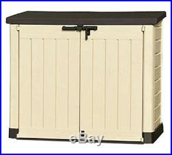 NEW Keter Large XL Store It Outdoor Garden Furniture Bike Shed Tool Storage Box