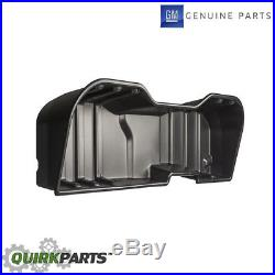 OEM NEW Underseat Storage Box Plastic 07-18 Silverado Sierra Crew Cab 23183674